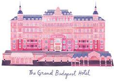 Grand Budapest Hotel by Marisa Seguin #wesanderson #grandbudapesthotel
