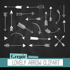 Arrows clip art LOVELY ARROW CLIPART tribal arrows arrow by Grepic, $5.00
