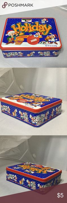 Vintage Keebler Holiday Tin Great for jewelry, make-up or trinket storage.  Would be a nice gift filled with goodies for someone special!  In very good condition. Other