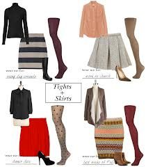 skirt with tights - Google Search