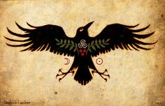RAVEN, I love her art work !!! I have two of hers. A shaman raven and an owl tailisman