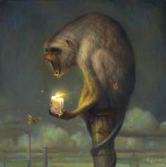 Martin Wittfooth | OIL | Post-apocalyptic Animal Painting