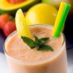 Fruit: Mango Papaya Smoothie