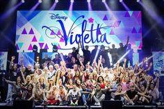 Violetta en concierto la gira mundial.