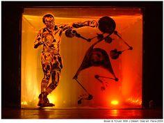 Boxer & With J. Stencil Graffiti, Boxer, Stencils, Artworks, Street Art, Table Lamp, Painting, Home Decor, Homemade Home Decor