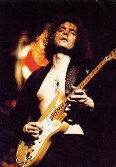 Ritchie Blackmore, one of my favorites and another great influence!!!