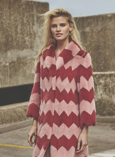 Lara Stone for Russh.
