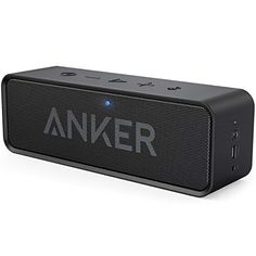 Sponsored - Anker SoundCore Portable Wireless Bluetooth Speaker with Dual-Driver Rich Bass 2 Mini Bluetooth Speaker, Stereo Speakers, Bass, Samsung, Distortion, Portable, Iphone, Cell Phone Accessories, Smartphone
