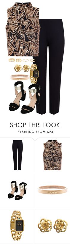 """""""Untitled #1752"""" by itsmeischoice on Polyvore featuring M&S Collection, Glamorous and Chanel"""