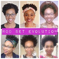 Rod set evolution - Naturtint Hair Color & LottaBody Perm Rod Set! | KlassyKinks.com