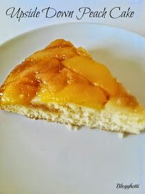 Blogghetti: Upside Down Peach Cake