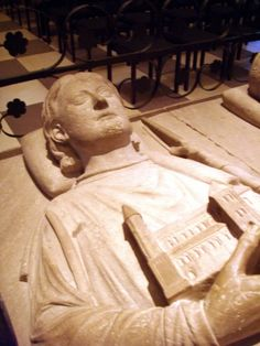 Henry the Lion, Duke of Saxony & Bavaria (1129 – 6 August 1195). Husband of Matilda Plantagenet of England, daughter of Henry II, King of England. Tomb in Brunswick Cathedral, Germany 32nd GGF