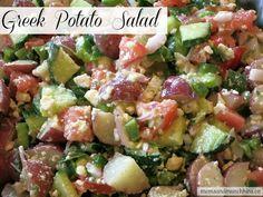Greek Potato Salad #Recipe #LMDConnector