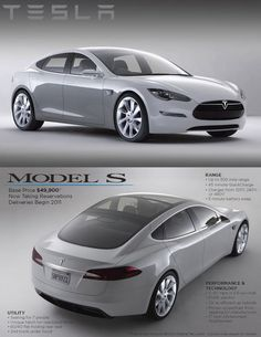 Tesla Model S is the coolest electric car on the planet and it will be mine once the twins get their licenses.