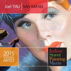 Madonnaro Joel Yau joins us as a featured artist June 27 & 28 in downtown San Rafael, California.  100+ artists from around the world cover the streets with amazing chalk art! Tickets available now at ispm.brownpapertickets.com #ChalkArtFestival #FineArt #MarinCounty #California