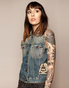 Bengal Denim Jacket, Drop Dead Clothing