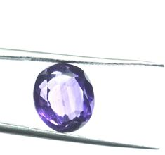 5.822 Ct.Certified.Natural Amethyst Oval Cut loose Gemstone AT 121715 #RidhimaGems