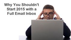 A Linkedin article I wrote arguing that you should treat your email inbox like a kitchen sink https://www.linkedin.com/pulse/why-you-shouldnt-start-2015-full-email-inbox-francis-wade