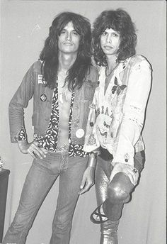 Steven Tyler and Joe Perry, Aerosmith