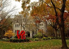 LOVE letters - Blanche Levy Park - University of Pennsylvania - And Dreams
