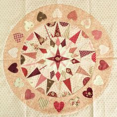 Elisabethsquilts, irish circle quilt