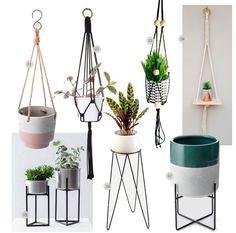 Decoração: onde comprar suportes para plantas