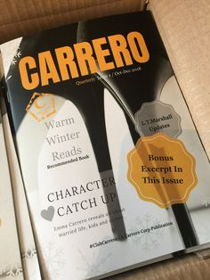 Shop The Carrero Magazine - Issue one from L.Marshall in Print, Books, available on Tictail from Romance Novels, Lost, Magazine, Books, Libros, Magazines, Book, Book Illustrations, Libri