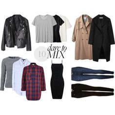 """""""10 Must Haves - Clothing"""" by marianasbranco on Polyvore"""