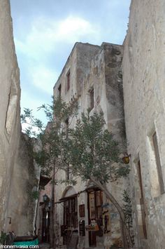 Monemvasia- a medieval castle city in southern Greece