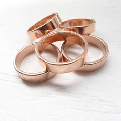 Size 7 Copper Ring 4.9mm (RHCU397)