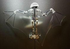 コウモリの独特な飛行スタイルを模倣して飛行や急降下が可能なコウモリ型ロボット - GIGAZINE