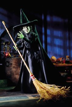 The Wizard of Oz Wicked Witch porcelain doll