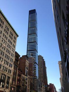 Het hoge One Madison gebouw