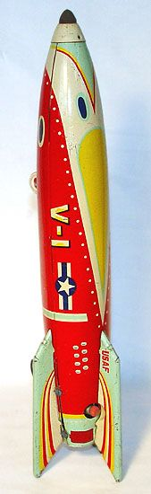 Tin Toy Rocket