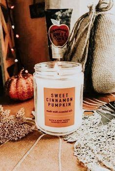 Pumpkin candle Cozy Aesthetic, Autumn Aesthetic, Happy Fall Y'all, Fall Pictures, Hello Autumn, Fall Halloween, Halloween Stuff, Autumn Inspiration, Fall Season