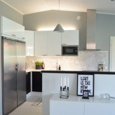 Timeless Concrete Pendant Lamp In A Kitchen Designed By Finnish Designer  Matti Syrjälä Corner 3