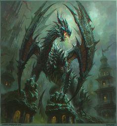 Dragon by Ivan Troitsky | Illustration | 2D | CGSociety