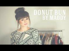 ▶ Donut Bun by Maddy - tutorial - YouTube