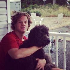 John Carlson and that dog have the same haircut.
