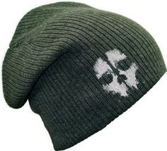 CALL OF DUTY Large Beanie Hat Grey available in the United Kingdom at http://www.call-of-duty-products-worldwide.com/shopUK/call-of-duty-grey-beanie-hat/
