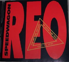 The Second Decade of Rock and Roll CD 1981-1991 by REO Speedwagon 1991