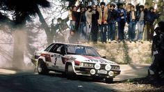 ra Timo Salonen - Seppo Harjanne-Nissan Violet GTS Gr.4-Team Nissan Europe-Port Wine Rally of Portugal 1982
