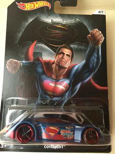 Covelight Batman vs Superman 4/7 Hotwheels