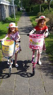 Dairoosy's blog Cute Bike Baskets sn: blog is in dutch google translate may be needed;)