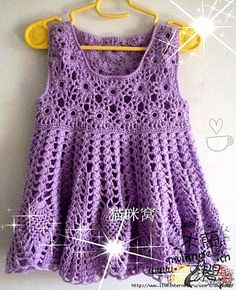 Dresses - Crochet Patterns for Baby - FREE PATTERNS