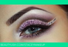 Prom makeup by Lost Princess #prom eyebrows