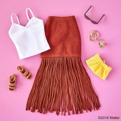 Feeling this fringe for a night out with friends! #barbie #barbiestyle