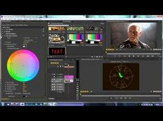 Premiere Pro Techniques: 49 Color THREE The Vectorscope, 69 Free Tutorial Videos to Help You Learn Adobe Premiere Pro Adobe Premiere Pro, Photography And Videography, Video Photography, Video Editing, Photo Editing, Das Experiment, Film Tips, Software, Effects Photoshop