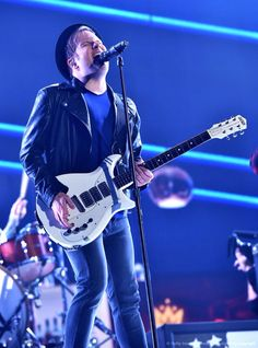 ((Open w/ Patrick)) I was worried for Mark. I stood onstage singing Where Did The Party Go and strumming the guitar.