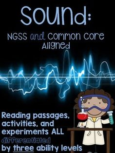 Sound Pack {CCSC/NGSS Aligned,Tiered, Experiments, Reading